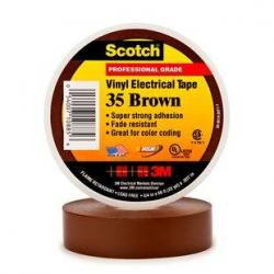 TAPE 35 BROWN 3/4X66FT 3M