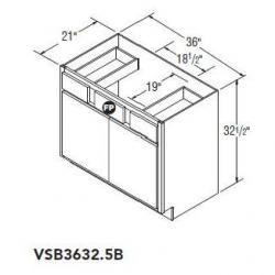 VSB3632.5 247 BENTON BIRCH UMBER