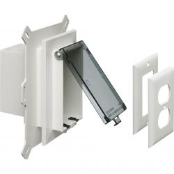 DBVS1C CLEAR VERTICAL SIDING BOX