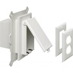 DBVS1W WHITE VERTICAL SIDING BOX