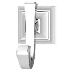 7455210.002 TOWN SQUARE S DOUBLE ROBE HOOK POLISHED CHROME
