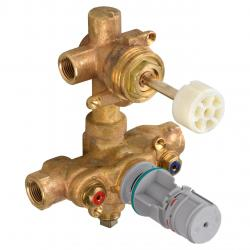R522S 2-HDL THERMOSTATIC VALVE 2 DISCRETE/1 SHARED