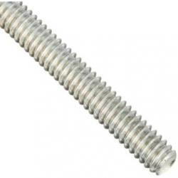 THREADED ROD 3/8 X 12 ZINC PLATED