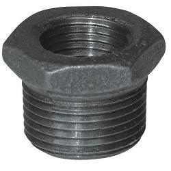 BUSHING 3X1-1/2 BLACK MALLEABLE