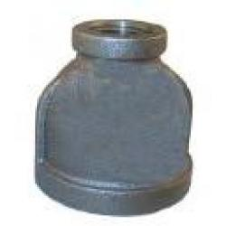 COUPLING 1X1/4 BLACK MALLEABLE