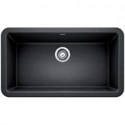 """401895 ANTHRACITE IKON 33"""" APRON FRONT SINK"""