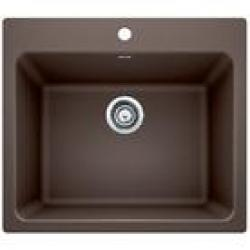 401922 25X22 BLANCO LIVEN LAUNDRY SINK CAFE BROWN