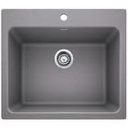 401924 25X22  LIVEN LAUNDRY SINK METALLIC GREY