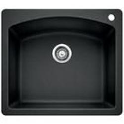 440210 BLANCO DIAMOND 25X22 SINGLE BOWL SINK ANTHRACITE