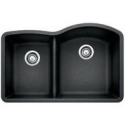 441598 BLANCO ANTHRACITE 1 3/4 BOWL REVERSE WITH LOW DIVIDE