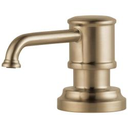 RP75675GL ARTESSO SOAP DISPENSER LUXE GOLD