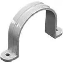 PIPE STRAP 2-HOLE 1/2 PVC ELEC