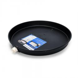 """11460 22"""" ID Plastic W/H Drain Pan PVC Fitting"""