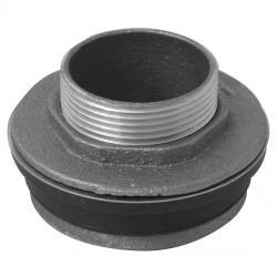 CLOSET SPUD 1-1/2X1-1/2 W/ GASKET