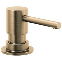 RP100734CZ TRINSIC METAL SOAP DISPENSER CHAMPAGNE BRONZE