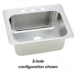 "DCR252210-4 4-HOLE CELEBRITY 25X22 10"" DEEP DROP IN STAINLESS ELKAY"