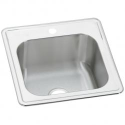 ESE202010-1 20 X 20 x10-1/8  CELEBRITY SINGLE BOWL DROP IN SINK