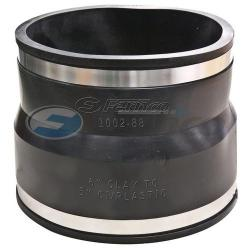 COUPLING 8X8 CLAY X CI OR PLASTIC