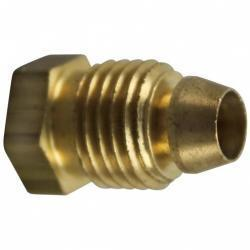 "COMPRESSION FITTING 1/4 PILOT TUBE 0.65"" length"