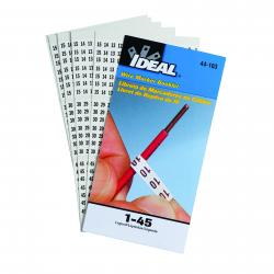 44-103 1-45 WIRE MARKER BOOKLET