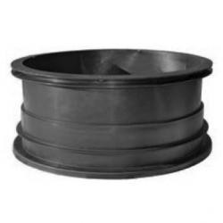 SEPTIC RISER 24 X 12 IN BLACK
