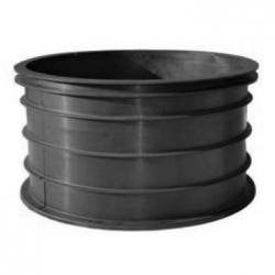 SEPTIC RISER 24 X 18 IN BLACK