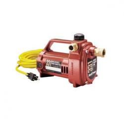 331 1/2 HP PORTABLE TRANSFER PUMP 115V GARDEN HOSE CONNECTION
