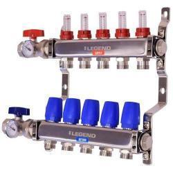 LV8330-10-5 - 8330-10-5 Stainless steel 5 port basic