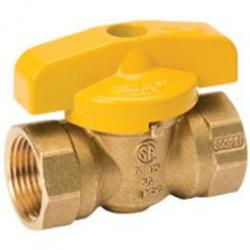 "GAS BALL VALVE 1/2"" CELLO"