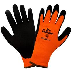 1133 - LG ICE GRIPSTER COLD WEATHER HI-VIS ORANGE GLOVE
