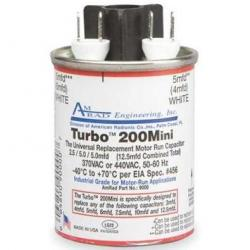 TURBO 200 MINI 2.5/5/5 MFD (370/440V)