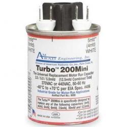 MRS12100 - TURBO 200 MINI 2.5/5/5 MFD (370/440V)