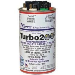 TURBO 200 2.5/5/5/10/20/25 MFD (370/440V)