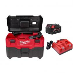 0880-20P M18 Wet/Dry Vacuum with FREE 5.0 Starter Kit