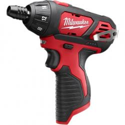 """2401-20 M12 1/4"""" HEX SCREWDRIVER (TOOL ONLY)"""