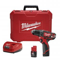 DRILL DRIVER KIT M12 3/8 MILWAUKEE