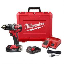 "2801-22CT M18 COMPACT BRUSHLESS 1/2"" DRILL DRIVER KIT"