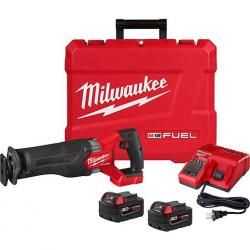 2821-22 M18 FUEL SAWZALL RECIPROCATING SAW W/2 BATTERY XC5.0 KIT, INCLUDES CASE