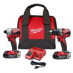 2892-22CT M18 COMPACT BRUSHLESS 2-TOOL KIT
