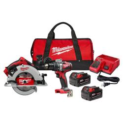 MT2992-22 - 2992-22 M18 COMPACT BRUSHLESS CIRC & HAMMER DRILL KIT