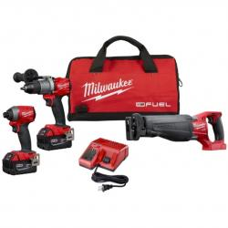 MT2997-23 - 2997-23 M18 FUEL™ 3-TOOL COMBO KIT