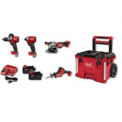 MT2997-24PO - 2997-24PO M18 FUEL 4 TOOL COMBO KIT W/PACKOUT