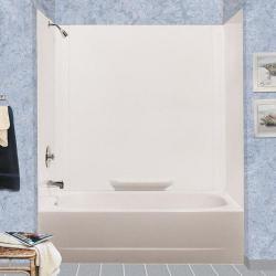 350WHT DURAWALL BATHTUB WALLS