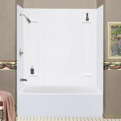 557 WHT MUSTEE SHOWER WALL KIT