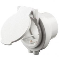 CF372 UTILITY INLET WHITE