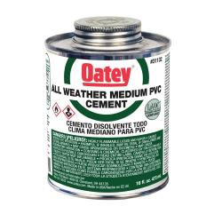 OA31132 - CEMENT PVC 16OZ ALL WEATHER CLEAR