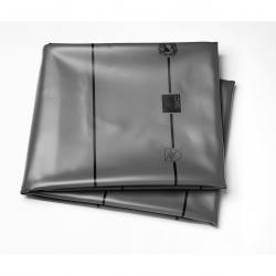 SHOWER PAN LINER PVC GRAY 6' WIDE LF