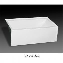 MB-S-6032R PURITY 60 X 32 TUB ONLY RH DRAIN BISCUIT
