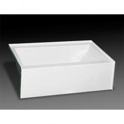 MB-S-6036L PURITY 60 X 36 TUB ONLY LH DRAIN WHITE