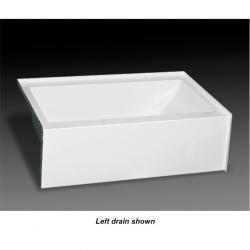 MB-S-6036R PURITY 60 X 36 TUB ONLY RH DRAIN WHITE
